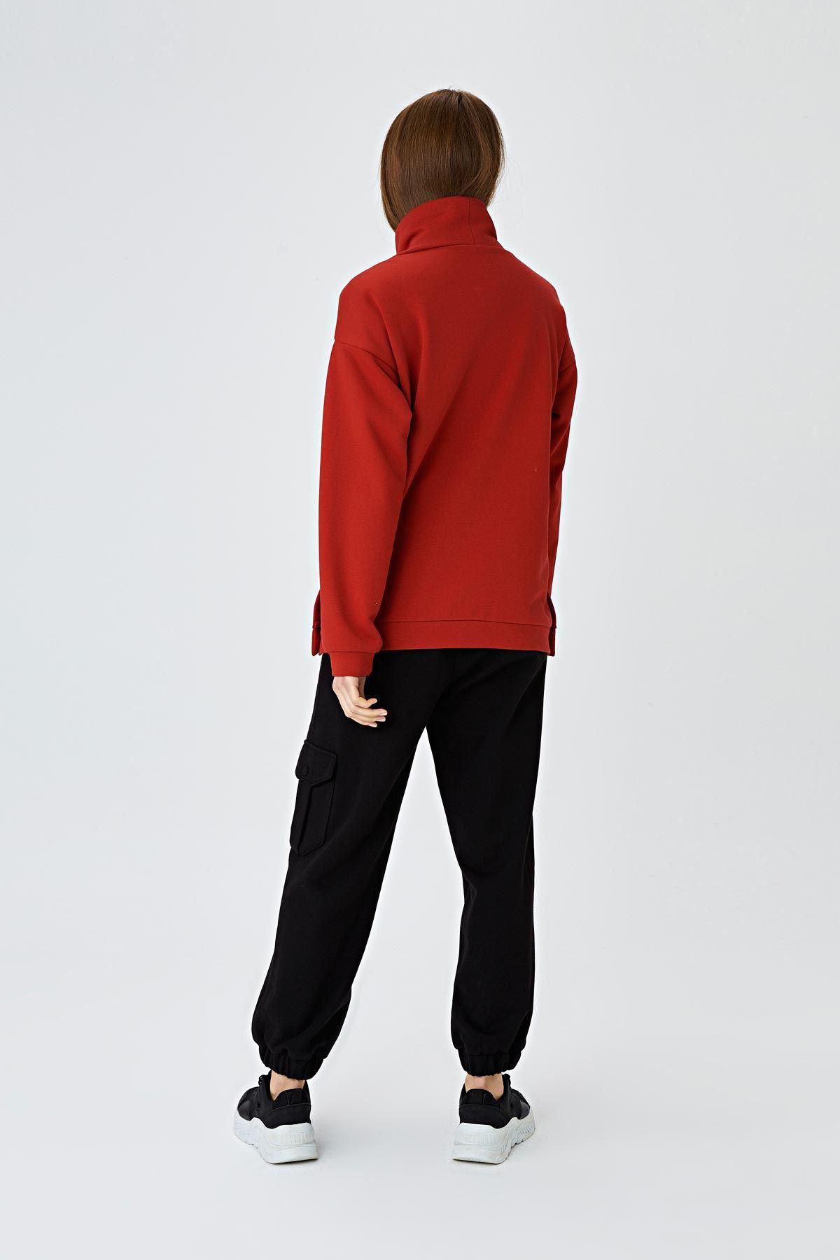Cepli jogging pantolon Siyah