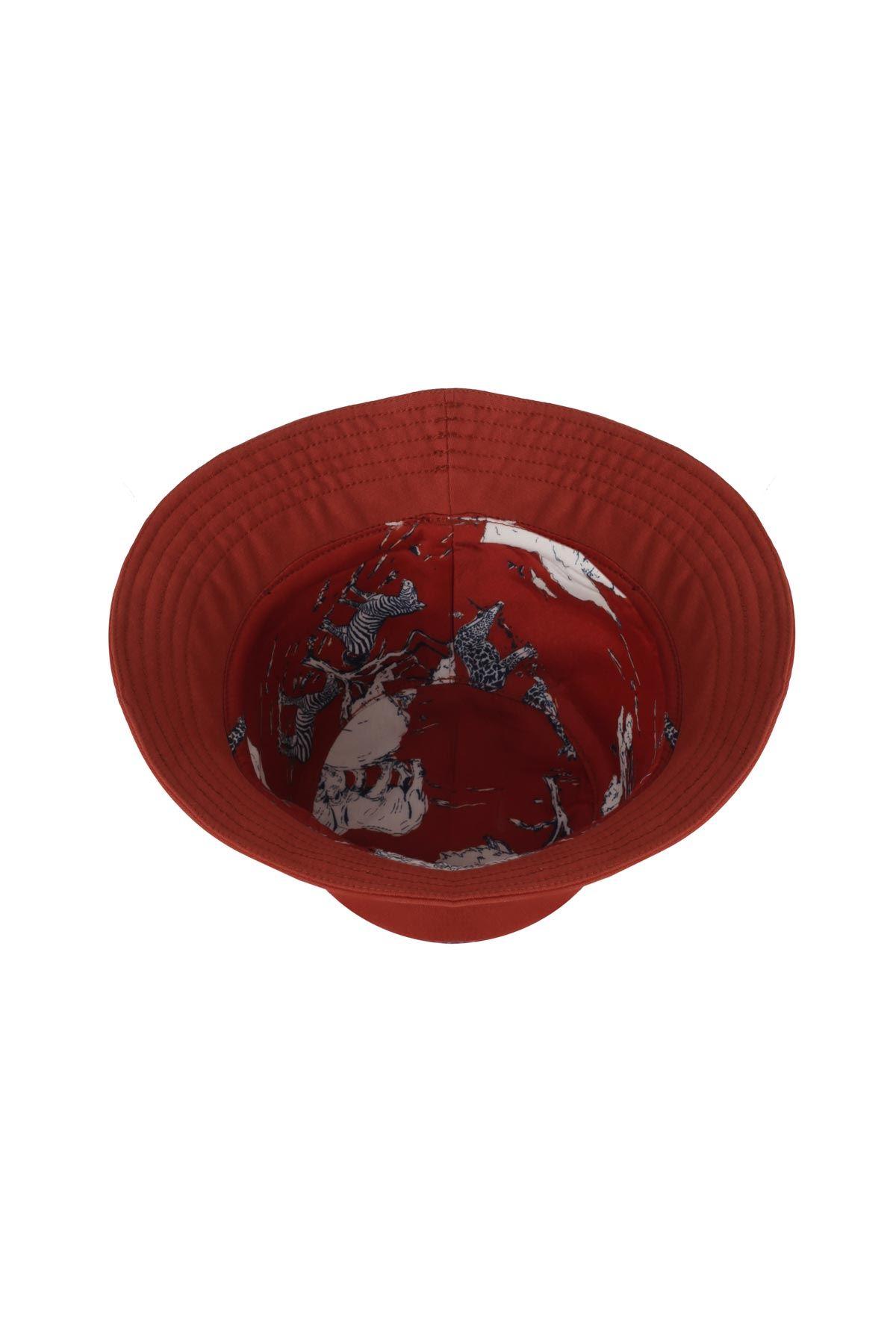 Düz şapka Kiremit