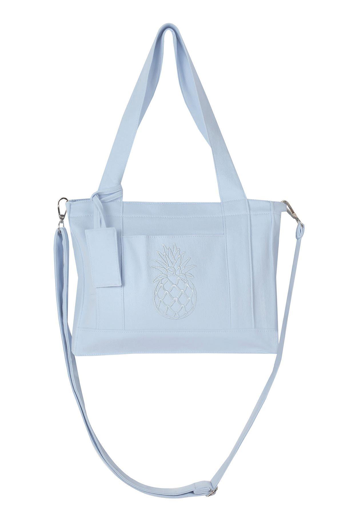 Mini boy çanta Mavi