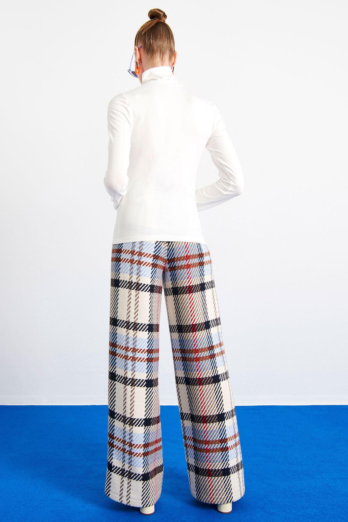 Ekoseli Pantolon Multi